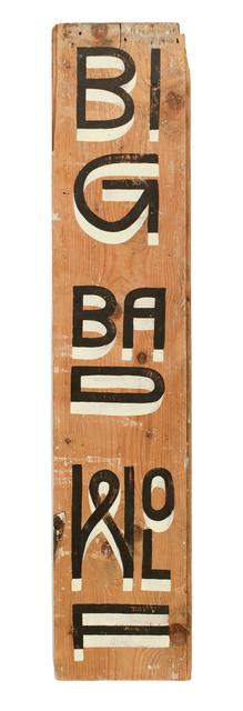 , 'Big Bad Wolf,' 2015, Paradigm Gallery + Studio