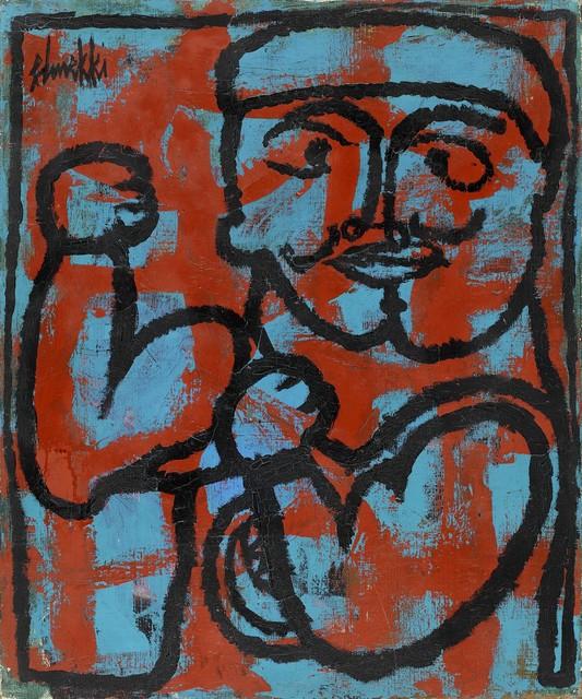 , 'Le boxeur,' ca. 1950, Elmarsa