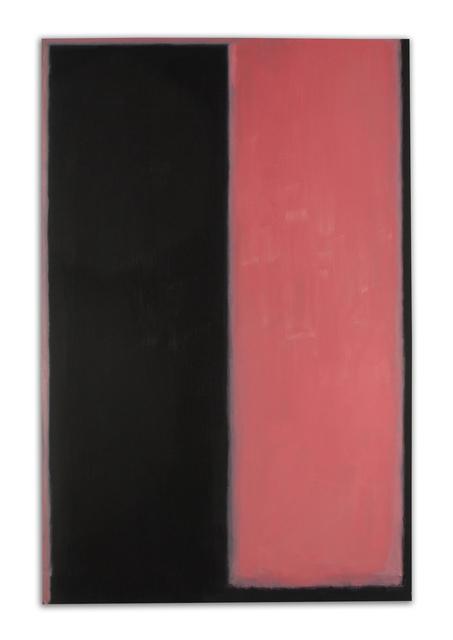 , 'Pink and Black,' 2017, William Turner Gallery