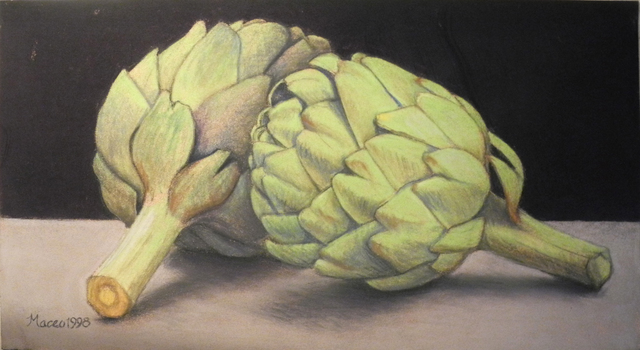 Maceo Mitchell, 'Two Artichokes', 1998, Bill Hodges Gallery