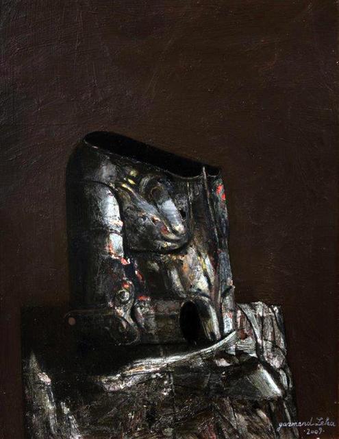 ", '""The armor"",' 2004, Galeria Kalo"