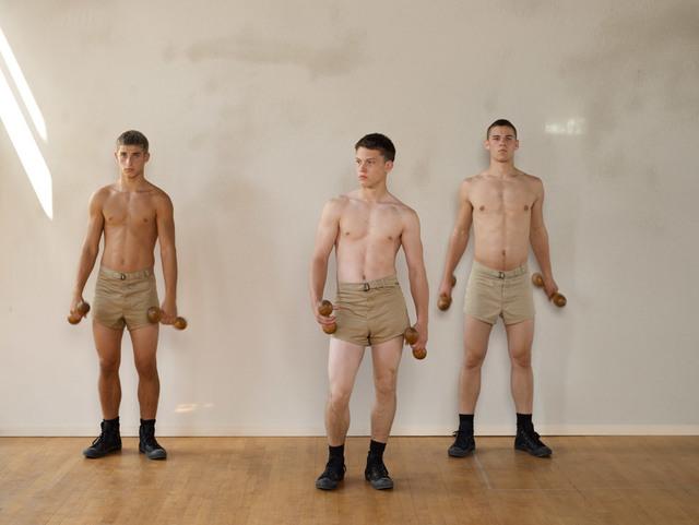 , 'Wooden Dumbbells,' 2007, ClampArt