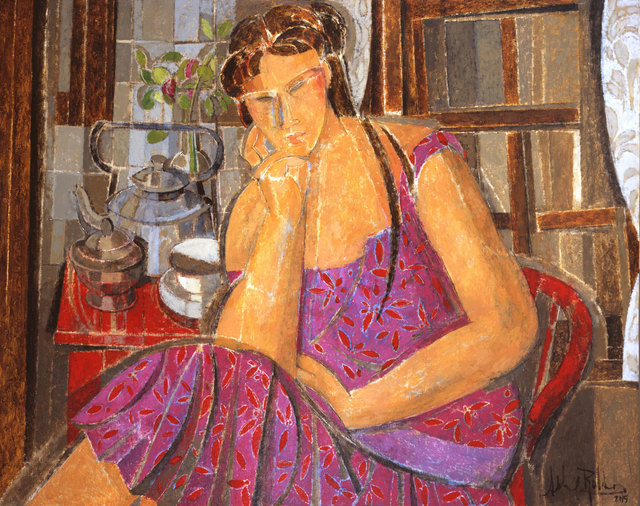 , 'Pink & Red,' 2015, Albemarle Gallery   Pontone Gallery