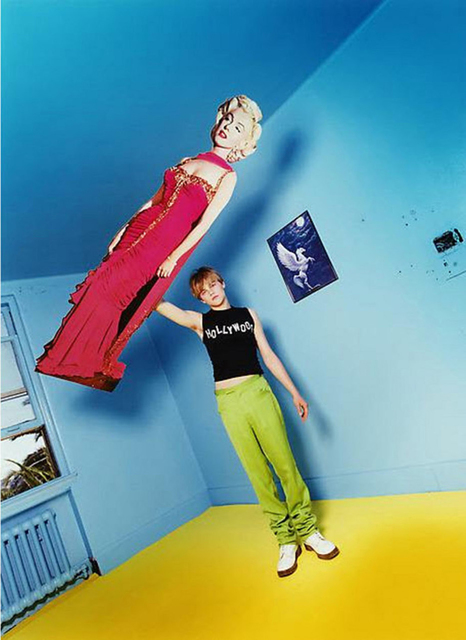 , 'Leonardo DiCaprio: Illusion of Levitation,' 1995, Staley-Wise Gallery
