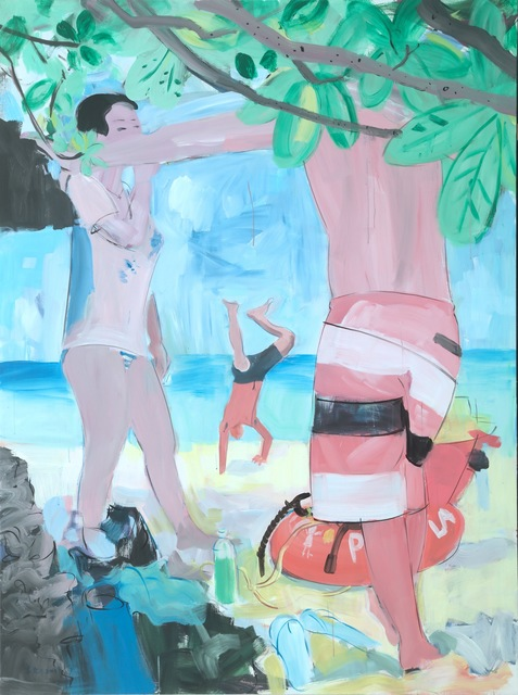 , 'Go to the seaside when you feel sad,' 2018, PIFO Gallery