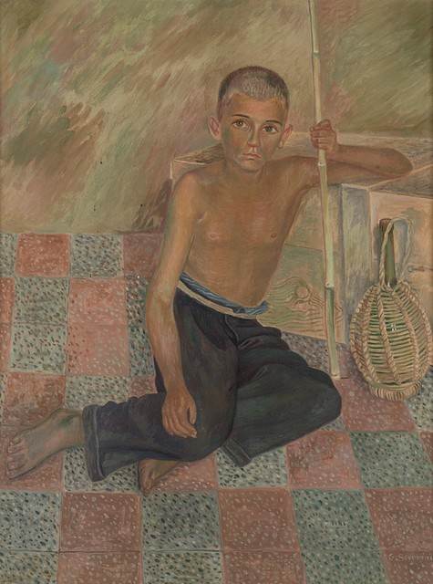Gino Severini, 'Pastorello seduto', 1939, Finarte