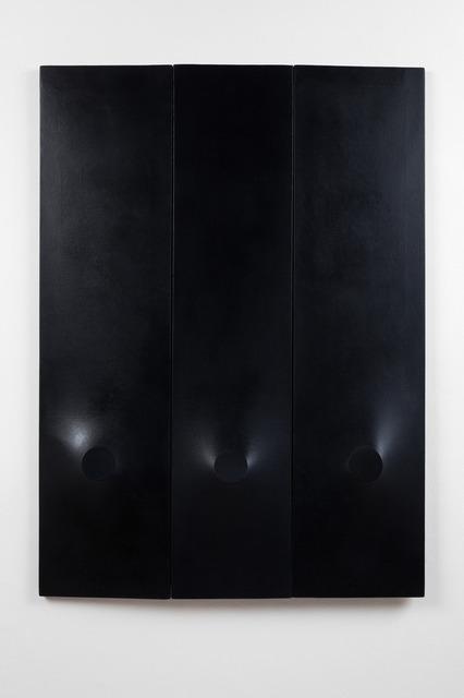 , 'Trittico nero,' 1976, Almine Rech