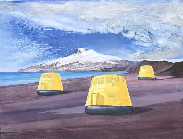 Aleksandar Popovic, 'Colony 1', 2020, Painting, Oil and wax on linen, Mizuma & Kips
