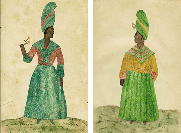 , 'Pair of Needle Prick Paintings on Paper,' New Orleans late 18th to early 19th century, Ricco/Maresca Gallery