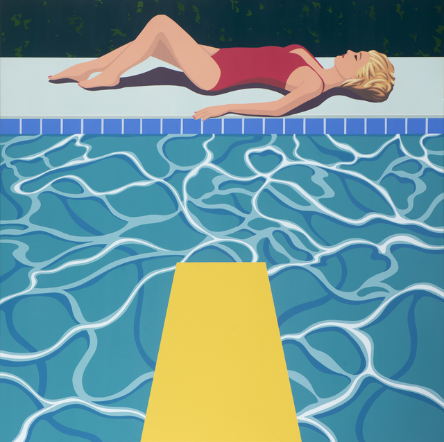 , 'Yellow Diving Board,' 2018, Caldwell Snyder Gallery
