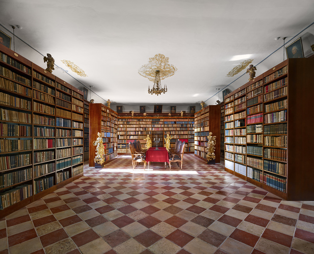, 'Library of the Franciscan Monastery, Dubrovnik,' 2017, Museum of Modern Art Dubrovnik