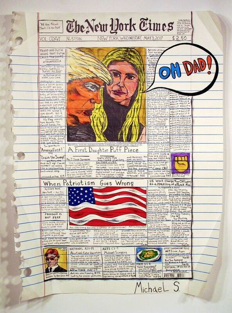 , 'Tic Tac Daddy (NY Times May 3rd, 2017) ,' 2017, The FLAG Art Foundation