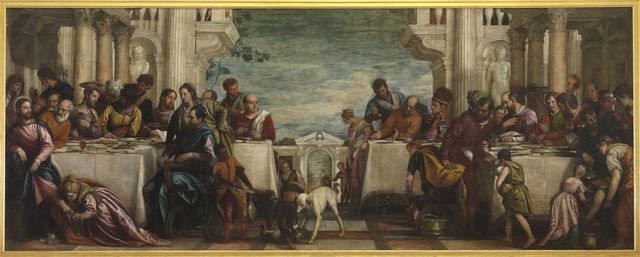 Paolo Veronese, 'The Feast in the House of Simon', 1570, Painting, Oil on canvas, Pinacoteca di Brera