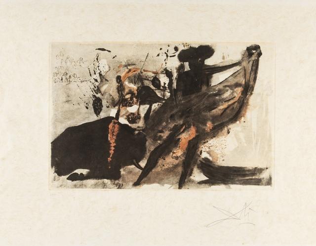 Salvador Dalí, 'La Tauramachie Individuelle (Field 72-11; M&L 153a)', 1966, Forum Auctions