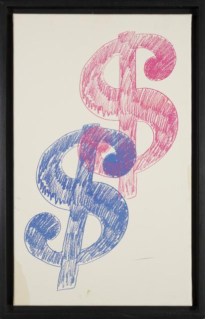 Andy Warhol, '$ Sign - Double ', 1980, Rudolf Budja Gallery