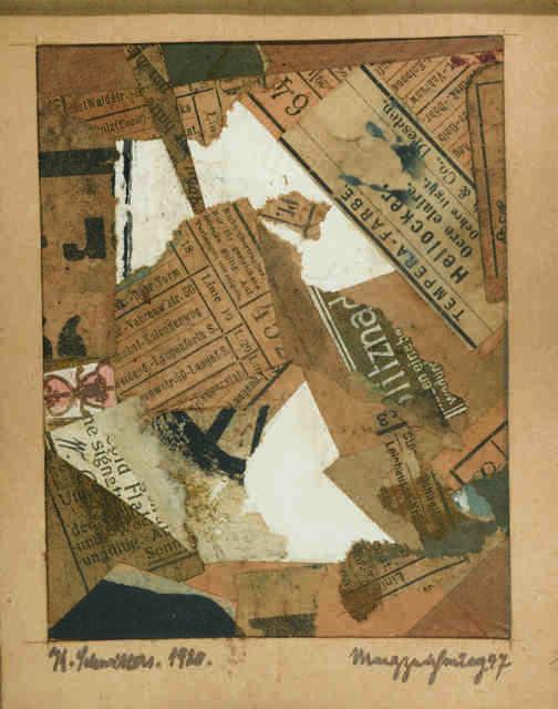 , 'Merzzeichnung 47,' 1920, Galerie Zlotowski