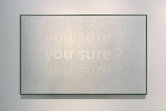 , 'Transparent Color-You Sure,' 2018, Asia Art Center