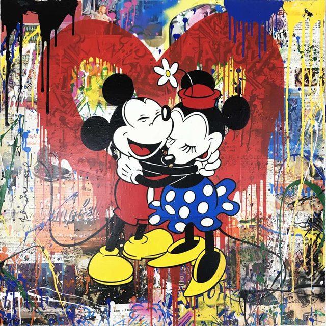 , 'Mickey & Minnie,' 2018, Hamilton-Selway Fine Art
