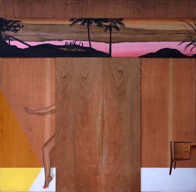 , 'O pelvic floor,' 2016, Machete