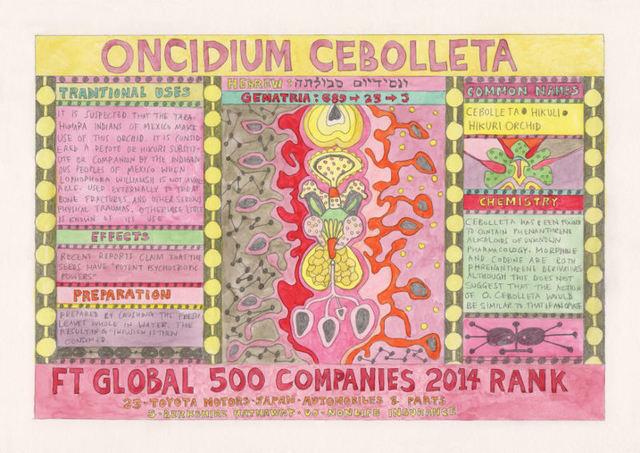 , 'HFT The Gardener/Outsider artworks/Oncidium cebolleta (Cebolleta),' 2015, P.P.O.W