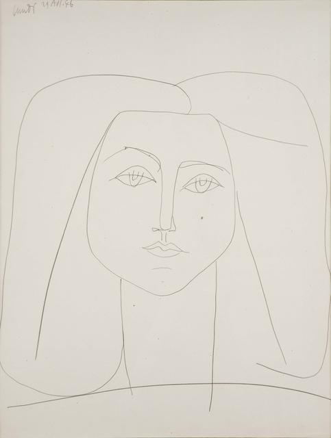 , 'Portrait de Françoise,' , DICKINSON