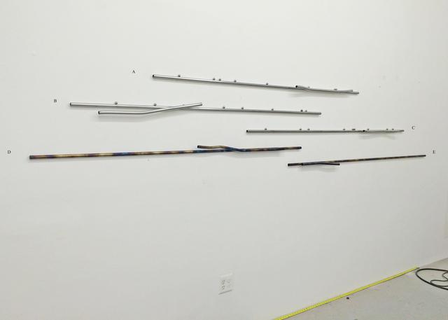 , 'Untitled (A,B,C,D,E),' 2015, ROOM EAST