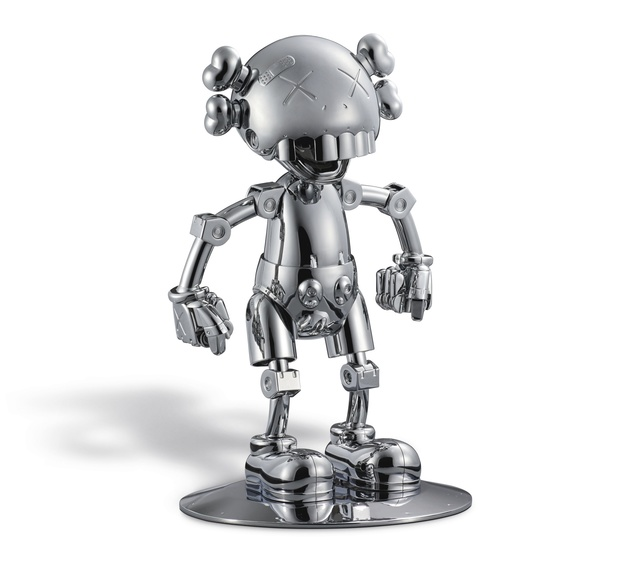 KAWS, 'No Future Companion (Silver Chrome)', 2008, MSP Modern