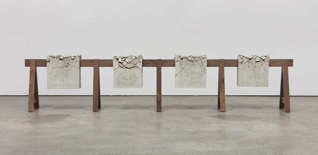 , 'Draped Concrete (26.25 sq ft),' 2016, Sprüth Magers