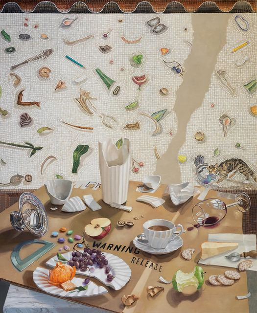 Barbara Kassel, 'Unswept', 2015, Painting, Oil on linen on panel, Clark Gallery