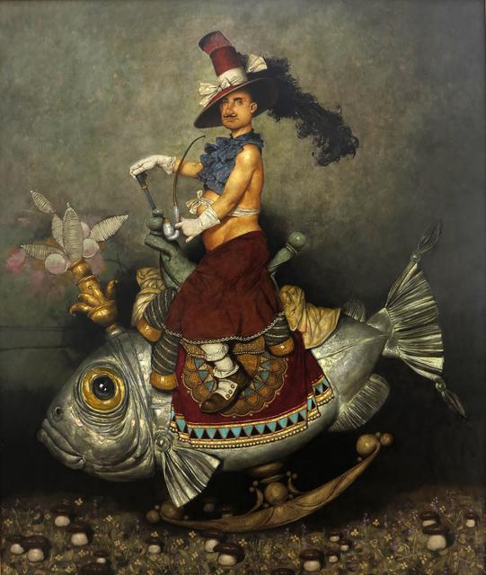 """, '""""Fish Rider"""" / """"Balık Sürücü"""",' 2016, Galeri 77"""