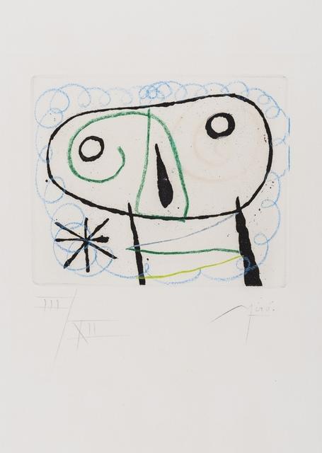 Joan Miró, 'Le Bague d'Aurore (Dupin 132)', 1957, Forum Auctions