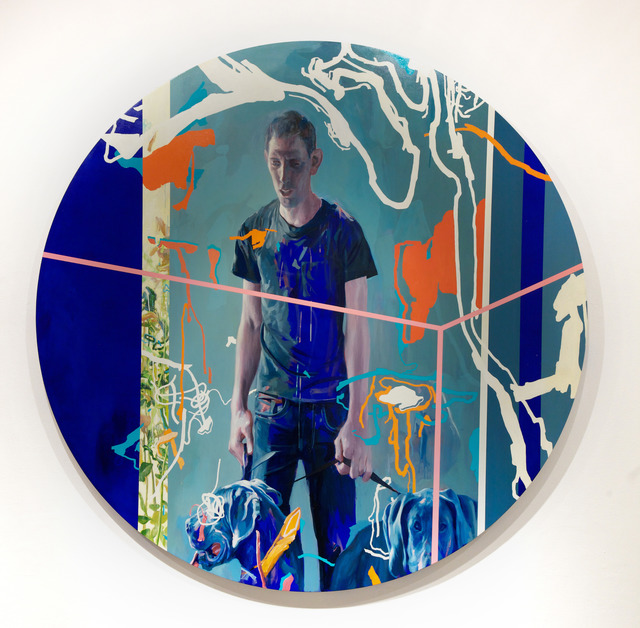 , 'Jared,' 2012, Jonathan LeVine Projects