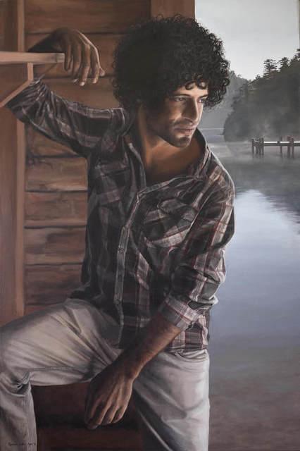 , 'Naveen,' 2018, Black Door Gallery