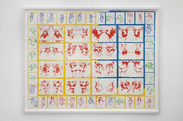 , 'Bugs, Frogs, Animals,' 2015, Galleria Raffaella Cortese