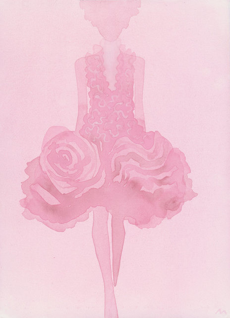 , 'Rose (Dress by Alexander McQueen),' 2015, CFHILL