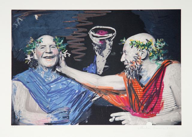 Pablo Picasso, 'Photo Rehasse de Picasso et Manuel Pallares', 1979-1982, Print, Lithograph on Arches, RoGallery