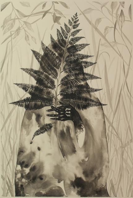 , 'shroud (of burning),' 2016, Galerie D'Este