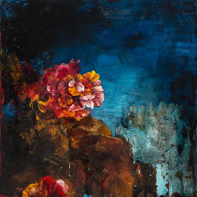 , 'Blue Floral Study,' 2019, Galerie de Bellefeuille