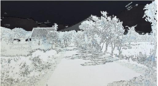 , 'Agung; geographie des cendres I,' 2011, Galerie Lacerte Art Contemporain