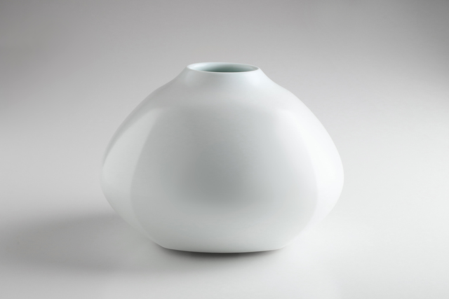 , 'White Porcelain Faceted Jar,' 2016, Onishi Gallery