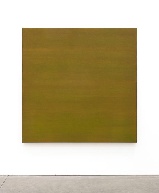 , 'Yellow/Green Sea Painting,' 2017, Brian Gross Fine Art