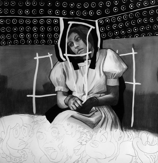 Hugo Crosthwaite, 'Vestido Blanco', 2018, Pierogi