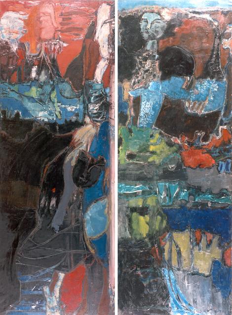 Rómulo Macció, 'Ofelia - Diptich', 1958, MAMAN Fine Art Gallery