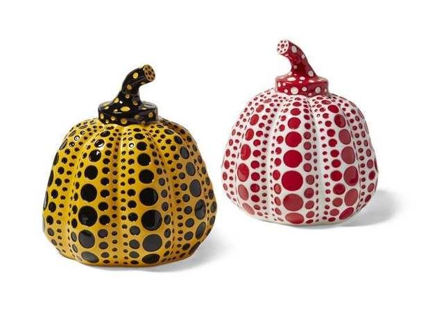 Yayoi Kusama, 'Pumpkins (Yellow & Black and Red & White)', 2016, Lougher Contemporary Gallery Auction