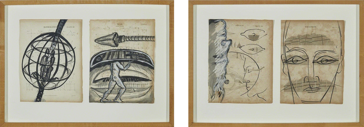 """2 Works from the Series, """"The Encylopedia of Experience"""""""
