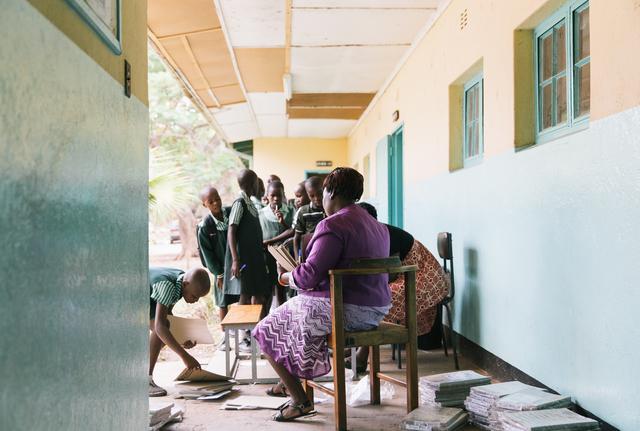 , 'Bikita Primary School Zimbabwe,' 2016, Museum of African Design (MOAD)
