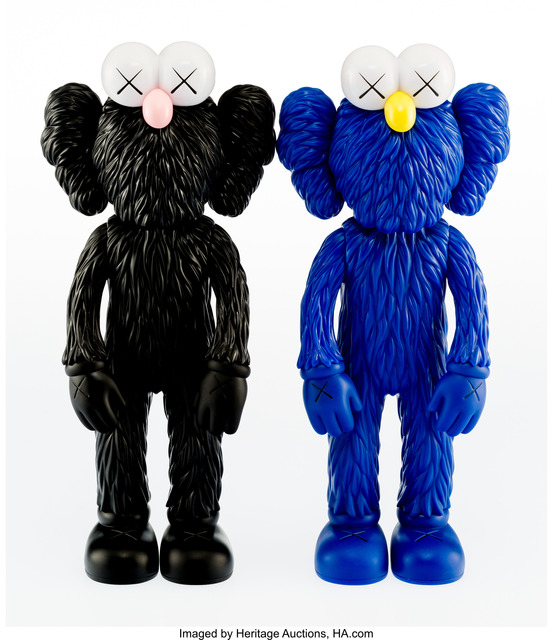 KAWS, 'BFF (Open Edition) (Black and MoMA)', 2017, Heritage Auctions