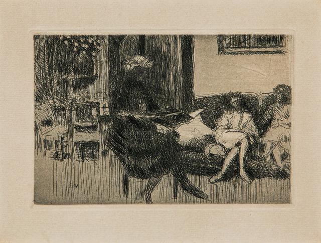 Édouard Vuillard, 'Intérieur au canapé, alternatively titled Soir', c. 1930, Skinner