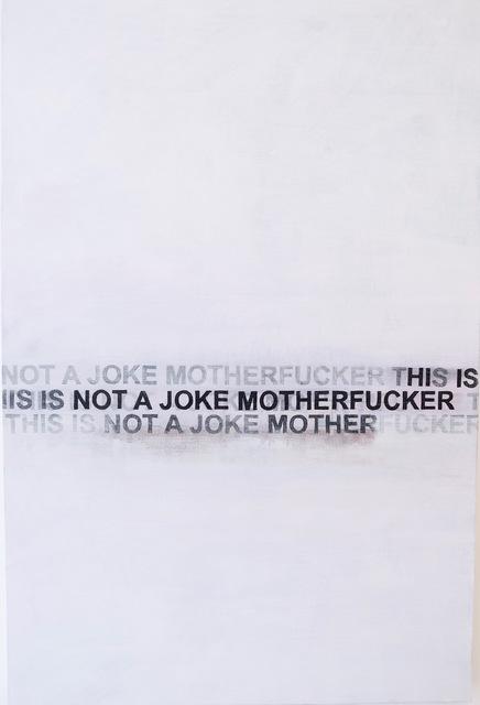 , 'No Joke,' , Planthouse