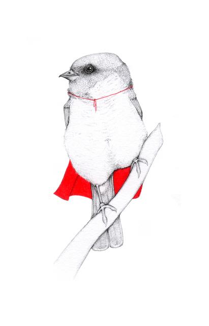 , 'Super Bird,' 2014, Rebecca Hossack Art Gallery